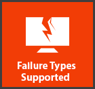 Failure Types Supported